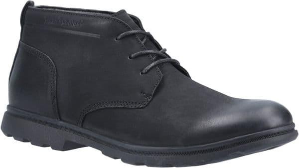 Hush Puppies Tyson Chukka Mens Boots Black